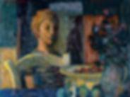 Theo Kurpershoek - Jongen in interieur