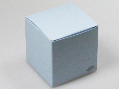 Blauw kubus
