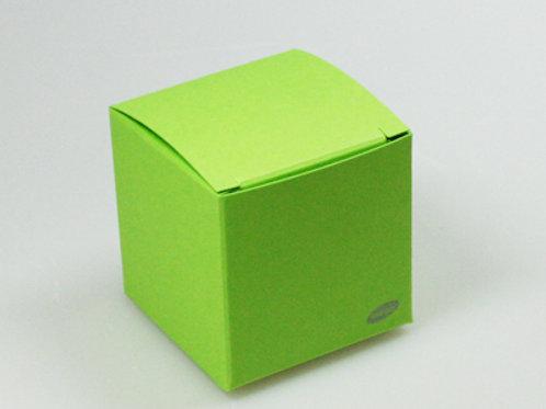 Fel groen kubus
