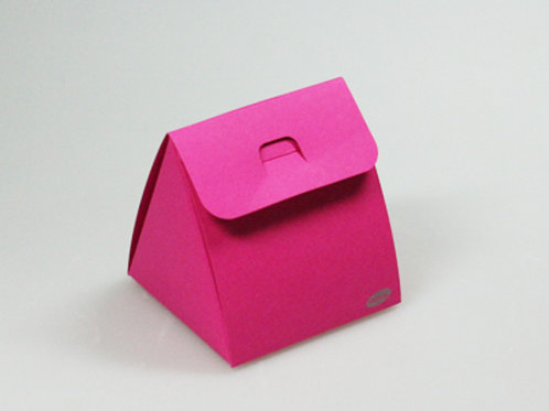 Fel roze driehoek