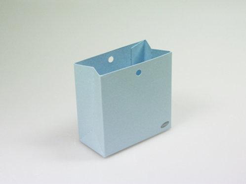 Blauw laag zakje
