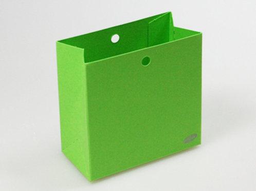 Fel groen laag zakje