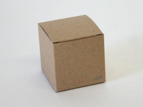 Karton naturel kubus