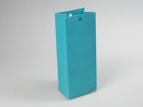 Fel blauw hoog zakje