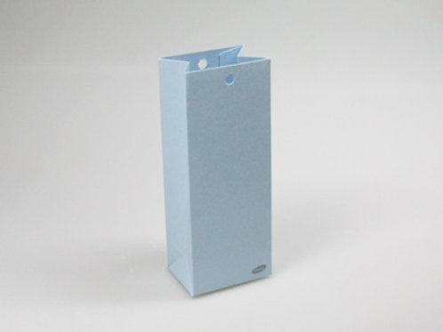 Blauw hoog zakje