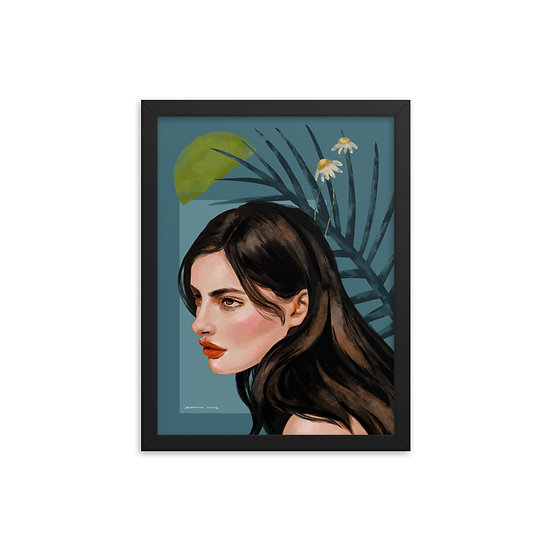 Framed poster | Caught in the Essence