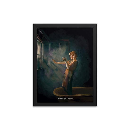 Framed poster | Apreciando la Luz