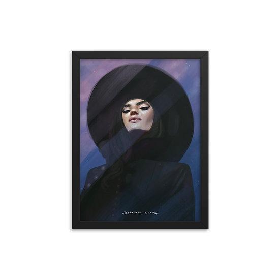 Framed poster | Fashion Hat
