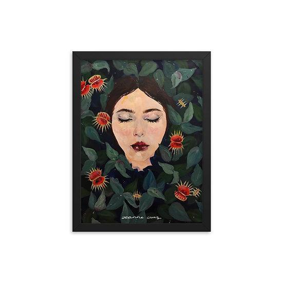 Framed poster | Venus Flytrap