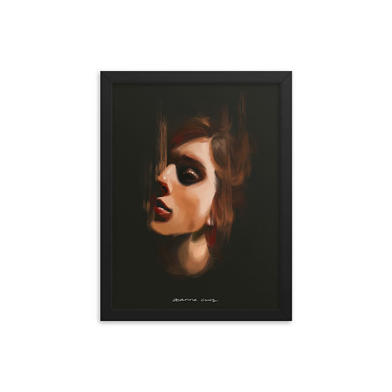 Framed poster | Soltar