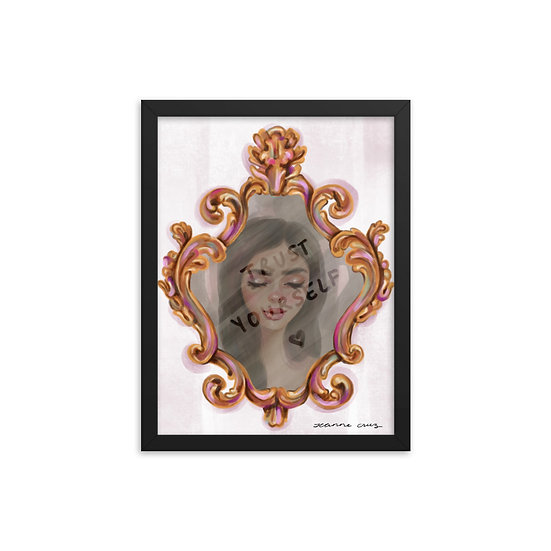 Framed poster | Love Yourself