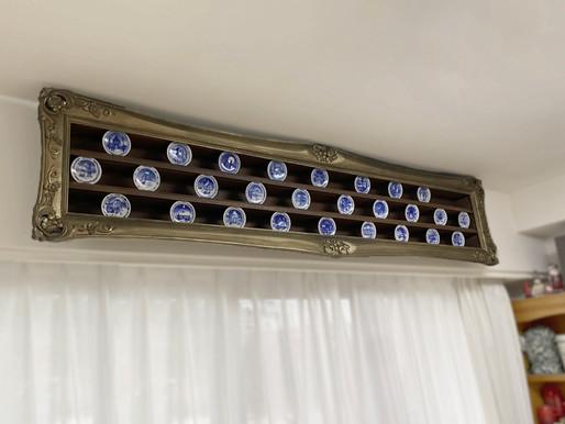 【BLOG】イヤープレートの飾り棚