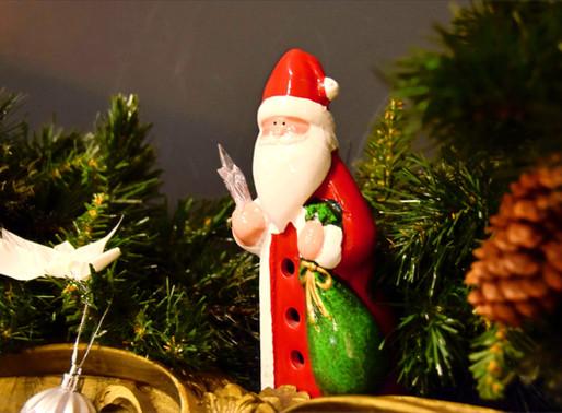 【BLOG】Merry Xmas !! -カフェがクリスマスの装いに-