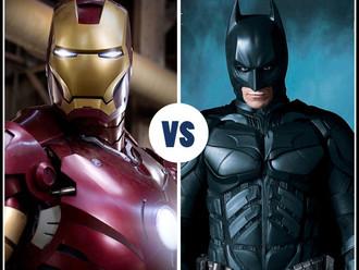 Iron Man > Batman
