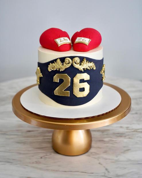 Boxer Cake