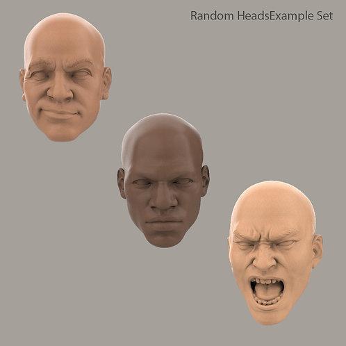 Random Head Sets