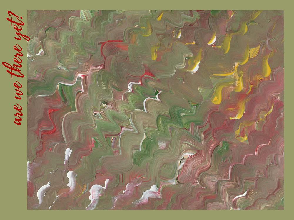 acrylic on paper