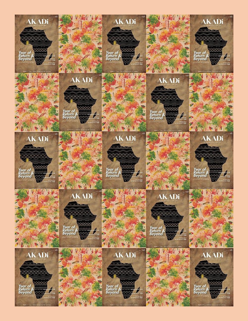 AKADi magazine poster (issue 3)