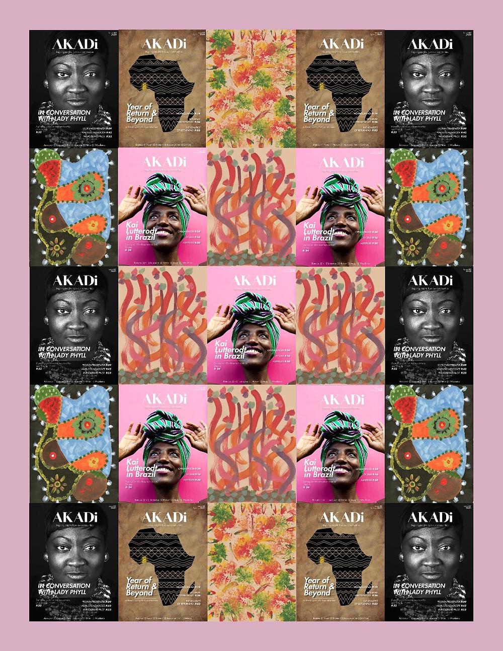 AKADi magazine poster (issues 1-3)