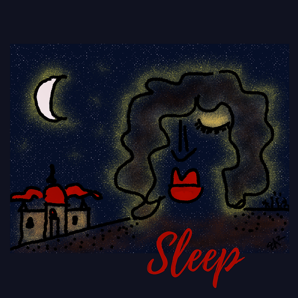 sleep - digital art