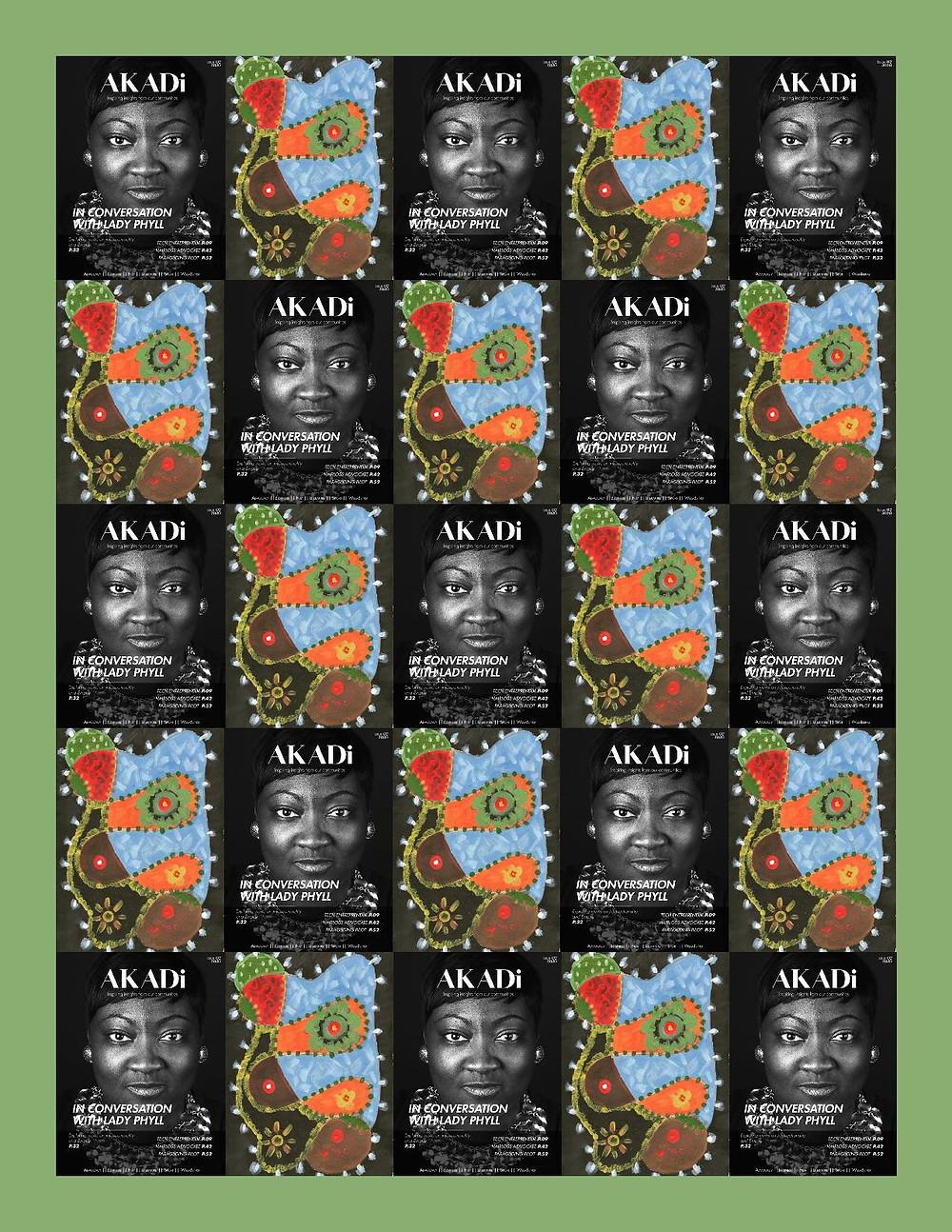 AKADi magazine poster (issue 2)