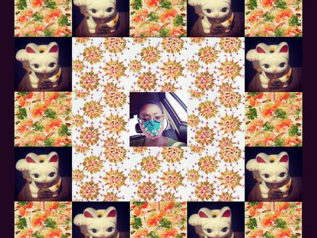 Lucky Cat, Orange & I - Lockdown Series