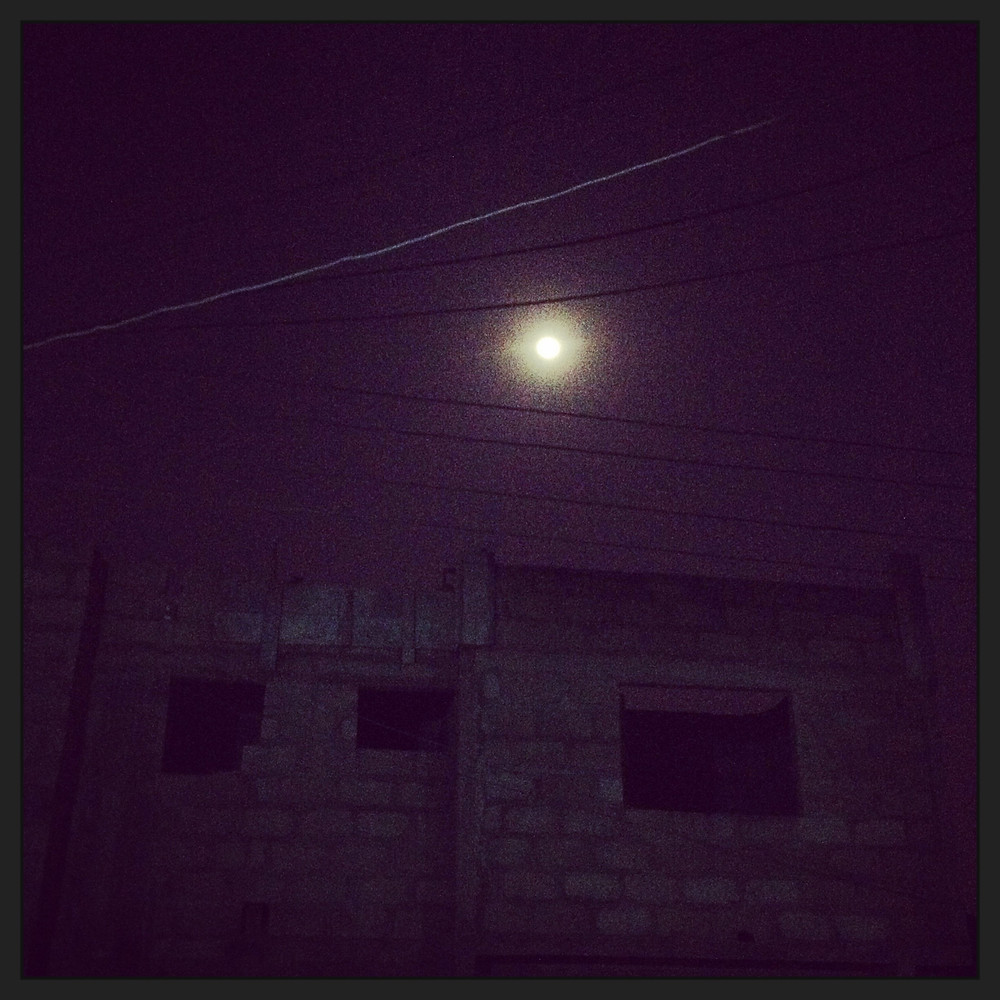 photo of night sky in Accra
