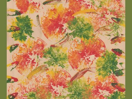 feather-orange delight