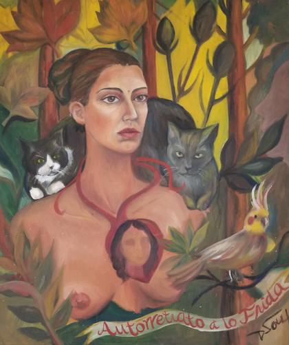 Delma a lo Frida