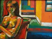 Self Portrait a lo Diebenkorn