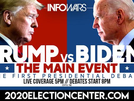 Highlights from 1st Presidential Debate
