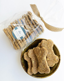 Chef Arie's Healthy Dog Biscuits