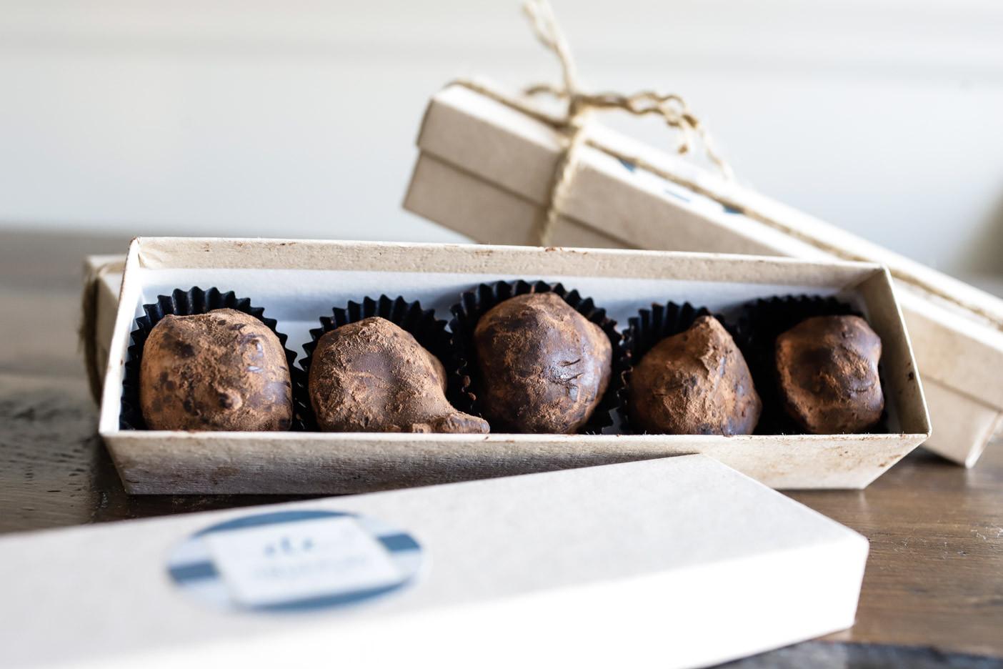 Chef Arie's Handmade Chocolate Truffles