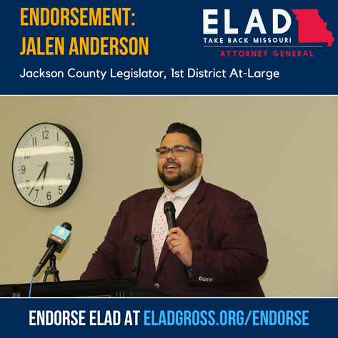 Jackson County Legislator Jalen Anderson