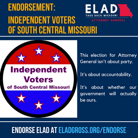 Independent Voters of South Central Missouri