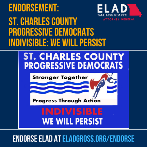 St. Charles County Progressive Democrats Indivisible: We Will Persist