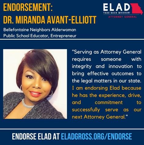 Dr. Miranda Avant-Elliott