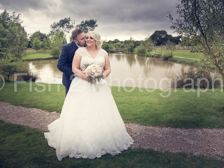 Emma and Jonathan get married at Charnock Farm, Leyland, Lancashire
