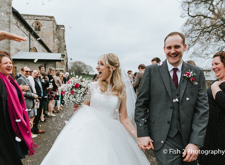 Andy and Becca get Married at Wyresdale Park, Scorton.