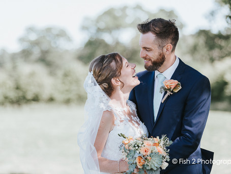 Becky and Tim get married at Crossgate Church and Lancaster