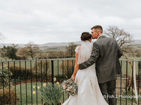 Sam and Laura get married at The Shireburn Arms, Clitheroe