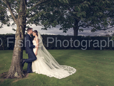 Josh and Stephanie get married at Garstang Golf Club
