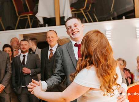 Becky and Nathan get Married at The Ley Inn, Chorley.
