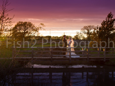 Hayley and Bob get married at Charnock Richard Farm