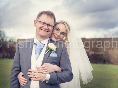 Anna and Nigel get married at Ferrari's Country House Hotel, Lancashire