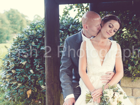 Rachel and Jonathan get married at Stirk House, Clitheroe