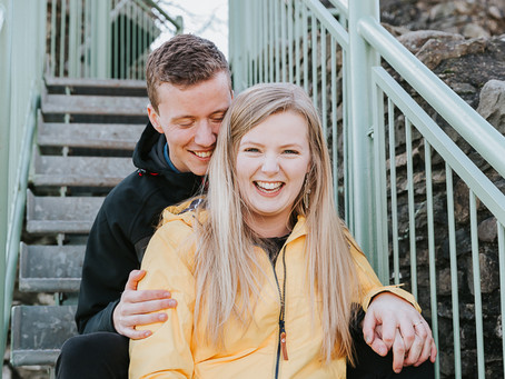 Tori and Hannes Engagement shoot, Kendal