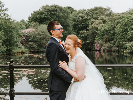Beth and Peter get Married at The Stables Country Club, Bury