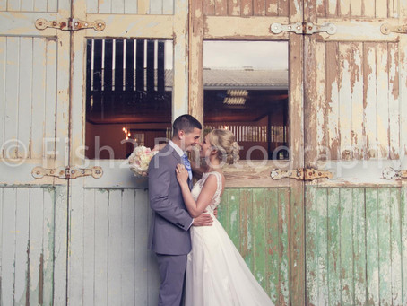 Becky and Lewis get married at Owen House Wedding Barn