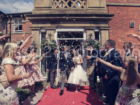 Helen and Matt get married at Bartle Hall, Preston